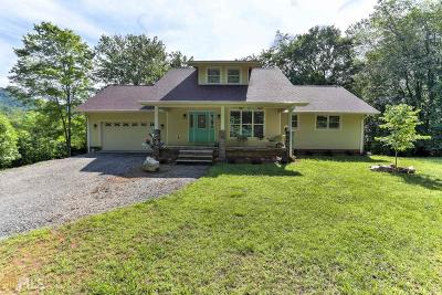 Blairsville Single Family Home For Sale: 419 Low Gap Rd