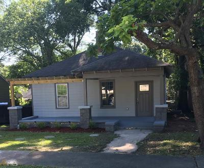 Hapeville Single Family Home For Sale: 3420 Harding Ave