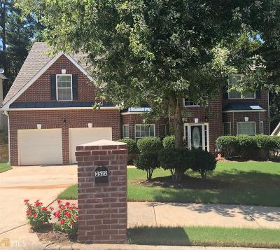 Ellenwood Single Family Home For Sale: 3522 Mortons Lndg