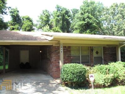 Douglasville Single Family Home Under Contract: 5048 Lisa Ct