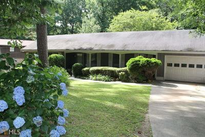 Stone Mountain GA Single Family Home Under Contract: $175,000