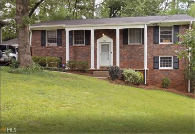 Chamblee Single Family Home Under Contract: 2931 Appling Cir #12