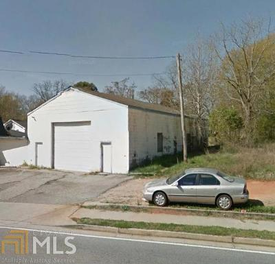 Covington Commercial For Sale: 6132 Jackson Hwy