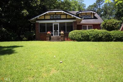 Avondale Estates Single Family Home New: 71 Clarendon