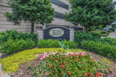 Fulton County Condo/Townhouse For Sale: 1280 W Peachtree St #813