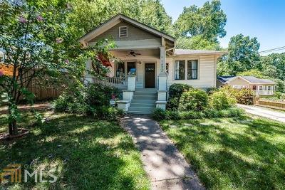 Decatur Single Family Home For Sale: 1622 Oakview