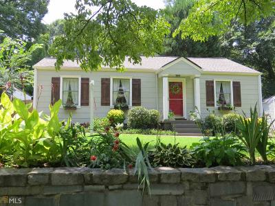 Grant Park Single Family Home For Sale: 505 Mead St