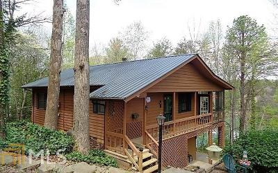Hiawassee Single Family Home Under Contract: 320 Bursey Rd #66-P65