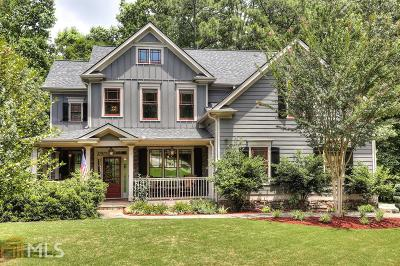 Ball Ground Single Family Home For Sale: 200 Davis Mill Rd