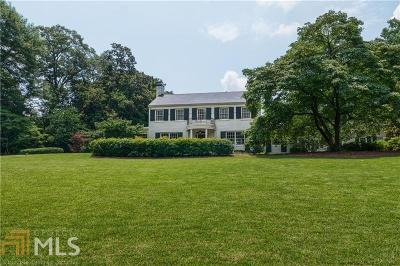 Buckhead Single Family Home For Sale: 1130 Mt Paran Rd
