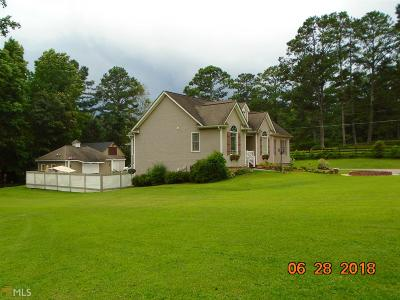 Paulding County Single Family Home Under Contract: 638 Hiram Sudie Rd