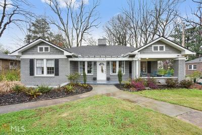 College Park Single Family Home For Sale: 1847 Walker Ave