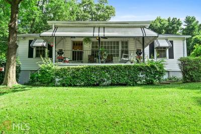 Hapeville Single Family Home For Sale: 780 North Ave