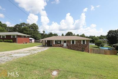 Douglasville Single Family Home Under Contract: 3997 Regent St