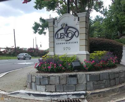Lenox Villas Condo/Townhouse Under Contract: 970 Sidney Marcus Blvd