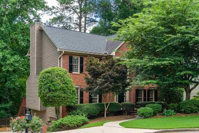Johns Creek Single Family Home Under Contract: 11735 Dunhill Place Dr