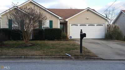 Lithonia Single Family Home Under Contract: 3702 Salem Chapel