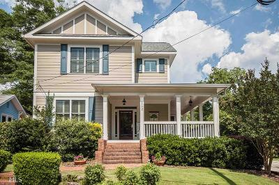 Decatur Single Family Home Under Contract: 152 Madison Ave