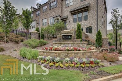Johns Creek Condo/Townhouse For Sale: 5476 Cameron Parc Dr