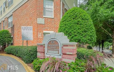 Cornerstone Village Condo/Townhouse New: 800 Peachtree St #1016
