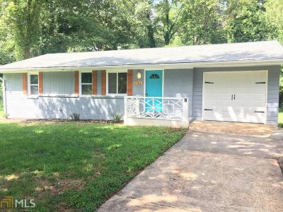 Decatur Single Family Home New: 3761 Turner Heights Dr