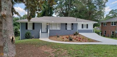 Decatur Single Family Home New: 2375 Tyler Way
