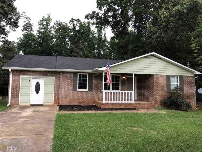 Griffin Single Family Home Under Contract: 195 Tomochichi