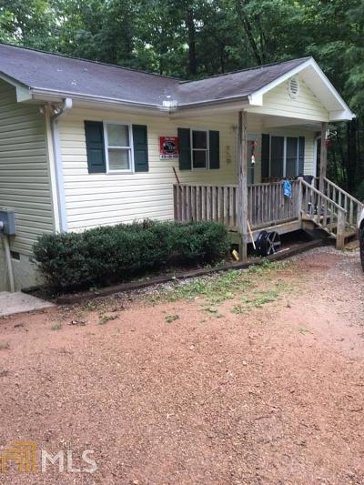 Rabun County Single Family Home For Sale: 63 Eastwood Trl