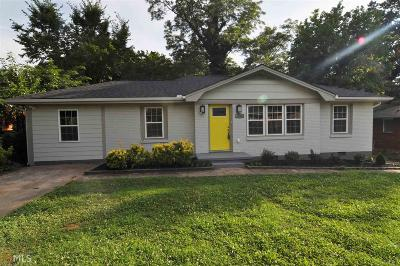 Decatur Single Family Home New: 1724 Valencia Rd