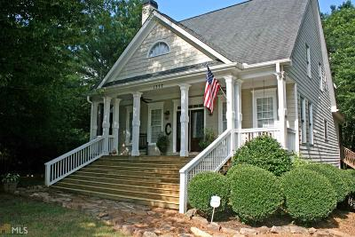 Monroe, Social Circle, Loganville Single Family Home New: 1337 Nunnally Farm Rd