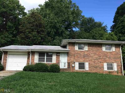Clayton County Single Family Home Back On Market: 2530 Burton Cir
