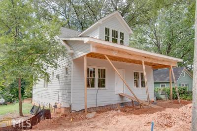 Hapeville Single Family Home For Sale: 542 Oak Dr