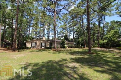 Statesboro Single Family Home For Sale: 415 Zetterower Rd