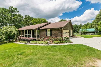 Loganville Single Family Home New: 3288 Brooks Dr