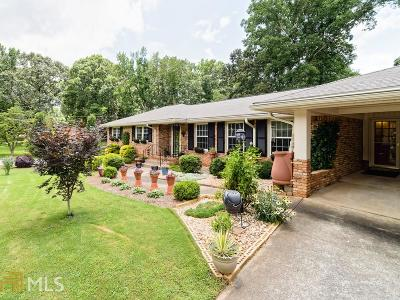 Smyrna Single Family Home For Sale: 3844 N Cooper Lake Rd