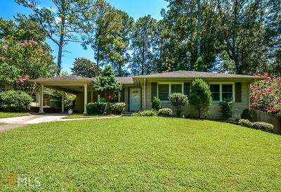 Dekalb County Single Family Home New: 1233 Carol Ln