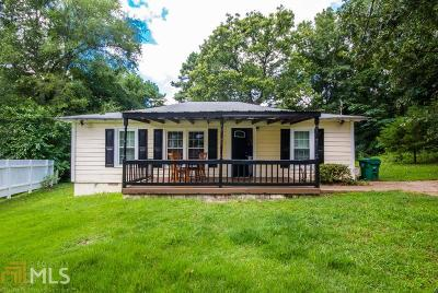 Lithonia Single Family Home Under Contract: 1855 Wellborn Road