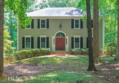 Peachtree City Single Family Home For Sale: 106 Rosewood Ct