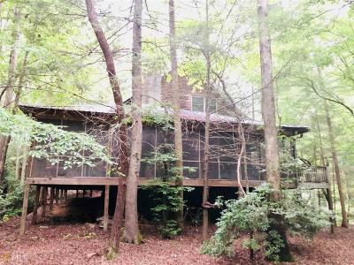 Dahlonega Single Family Home For Sale: 109 Woody Bend