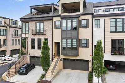 Smyrna Condo/Townhouse For Sale: 2108 Peach Ln