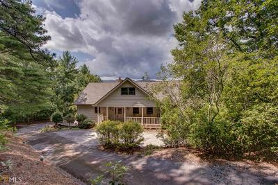 Sautee Nacoochee Single Family Home For Sale: 430 Grimes Nose