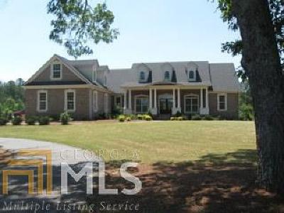 Social Circle Single Family Home New: 90 Meadow Trl