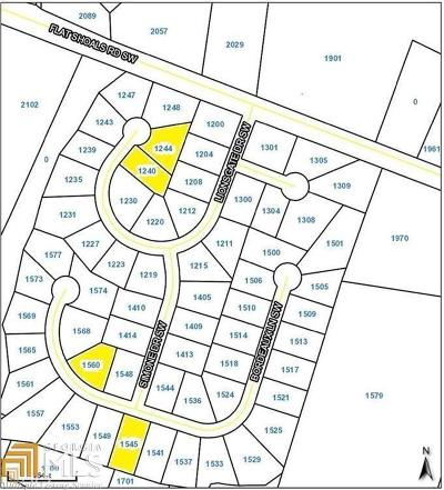 Conyers Residential Lots & Land For Sale: 1244 Lionsgate