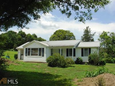 Hart County Single Family Home Under Contract: 2246 Bowersville Hwy