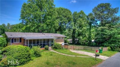 Brookhaven Single Family Home New: 1538 N Druid Hills