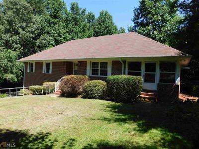Cornelia Single Family Home Under Contract: 3845 Level Grove Rd
