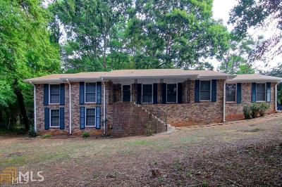 Conyers Single Family Home New: 1645 Holmes Dr