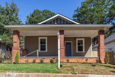 Mozley Park Single Family Home New: 1575 Mims St