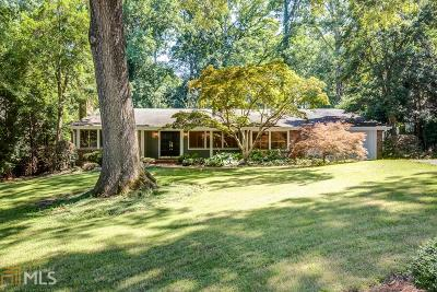 Atlanta Single Family Home For Sale: 621 Edinboro Rd