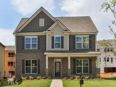 Fairburn Single Family Home New: 6015 Park Close